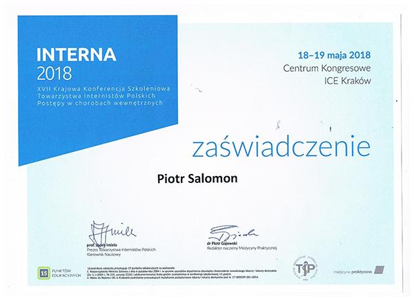 Interna 2018